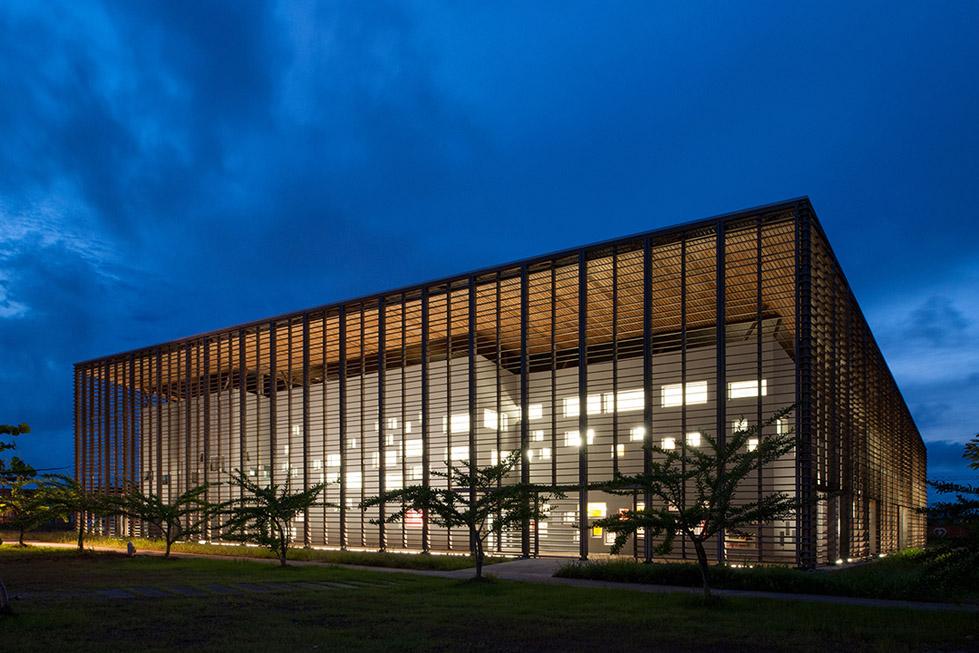 New University Library , Guyanese  rh+ architecture (2)