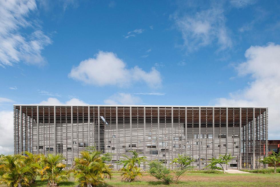New University Library , Guyanese  rh+ architecture (5)