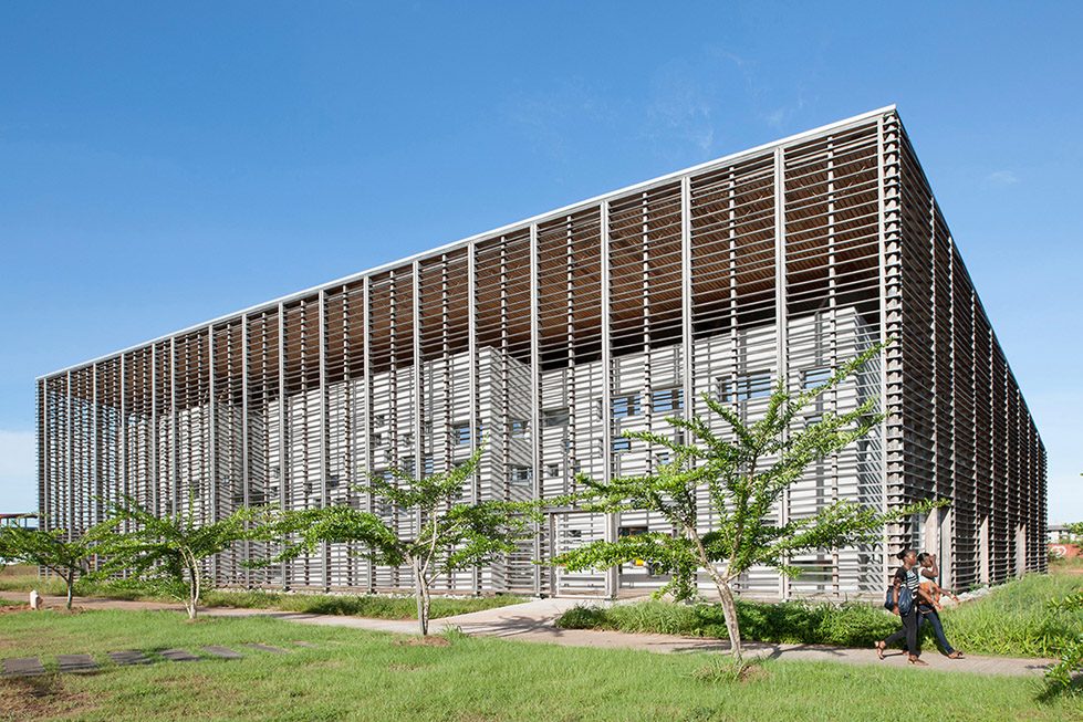 New University Library , Guyanese  rh+ architecture (7)