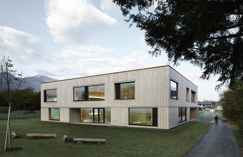 Kindergarten Bludenz, Bernardo Bader