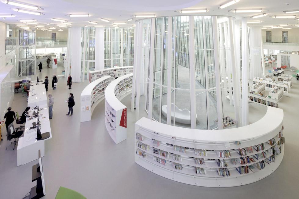 马桑市图书馆Media Library, Marsan  archi5 (7)