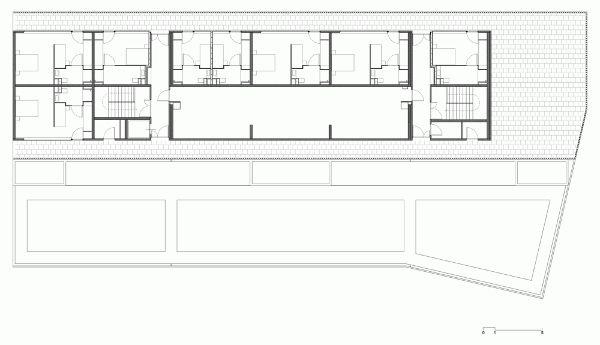 巴纽尔斯的国际住宿中心Atelier Fernandez & Serres (2)