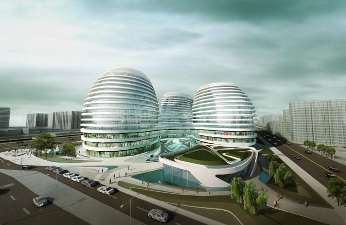 北京银河SOHOChina Zaha Hadid Architects (1)
