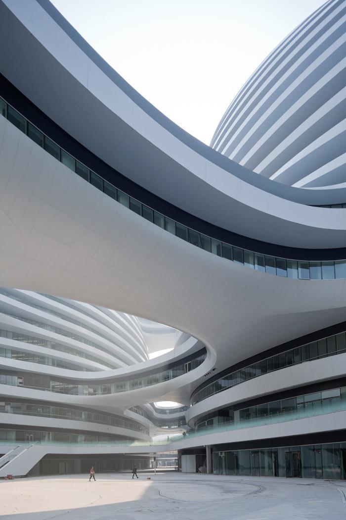 北京银河SOHOChina Zaha Hadid Architects (2)
