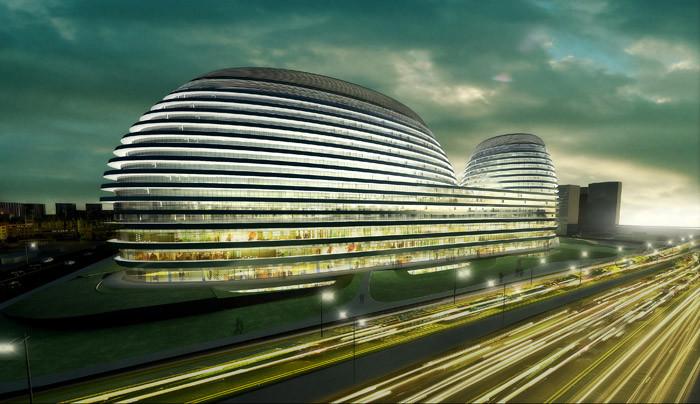 北京银河SOHOChina Zaha Hadid Architects (4)