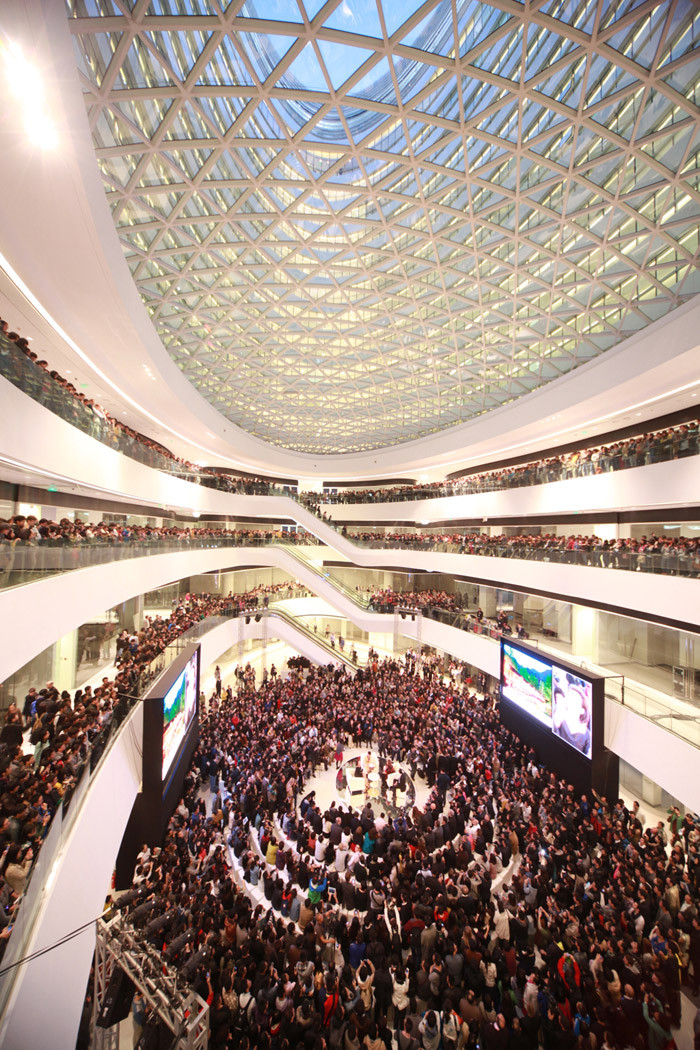北京银河SOHOChina Zaha Hadid Architects (7)