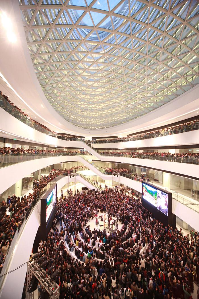 北京银河SOHOChina Zaha Hadid Architects (8)