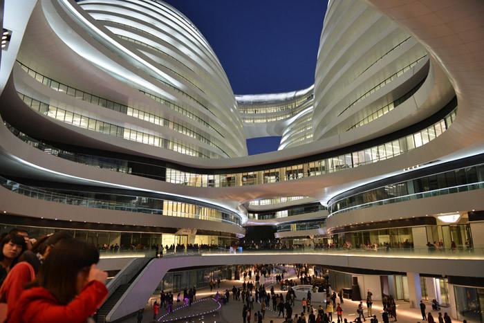 北京银河SOHOChina Zaha Hadid Architects (12)