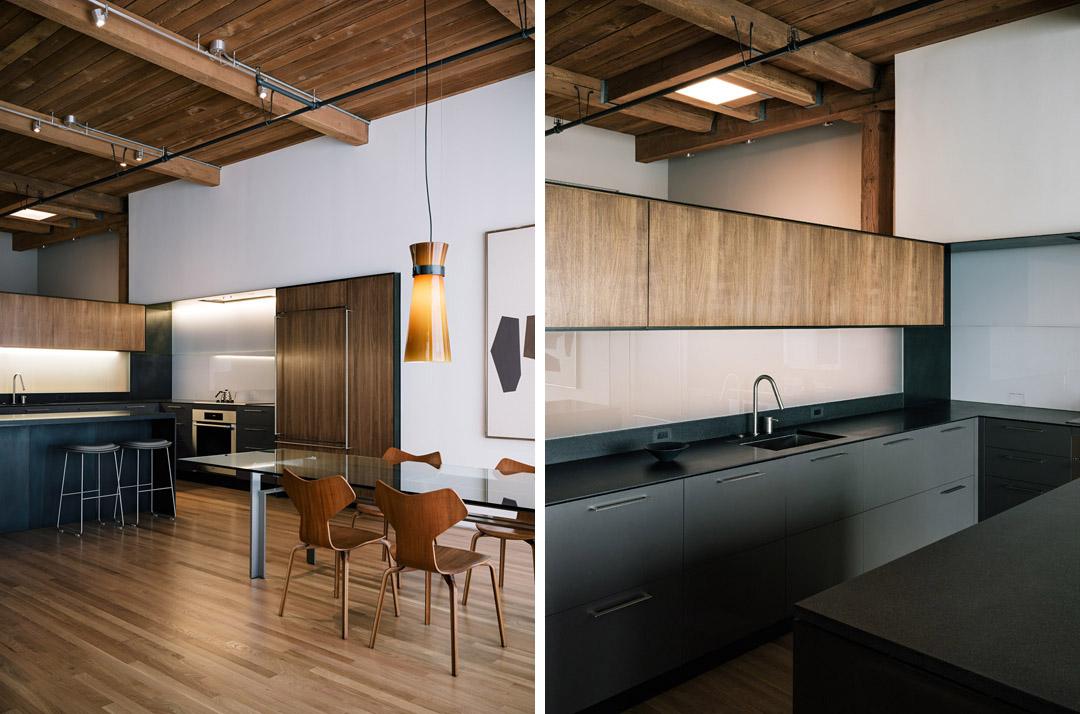 旧金山的SOMA改建的阁楼San francisco Loft  LINEOFFICE Architecture (6)