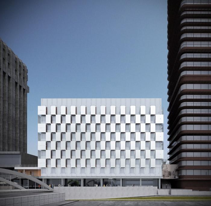 西班牙的普尔塔翁布里亚大区高速铁路站  Castellana 79 Building  Rafael de La-Hoz Arquitectos  (4)