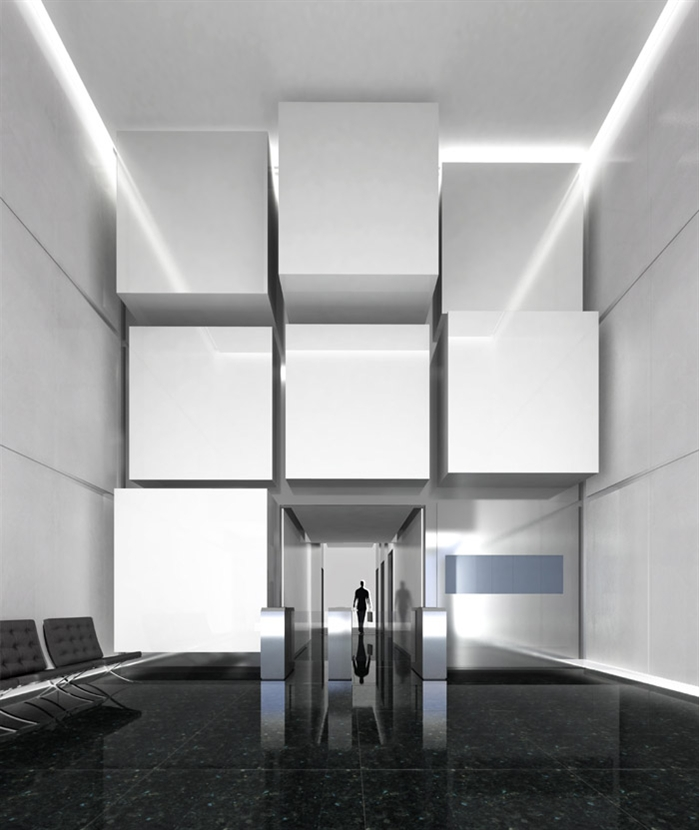 西班牙的普尔塔翁布里亚大区高速铁路站  Castellana 79 Building  Rafael de La-Hoz Arquitectos  (5)