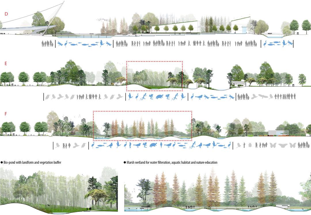 宁波走廊  2013ASLA规划设计荣誉奖  Ningbo Eco-Corridor  (2)