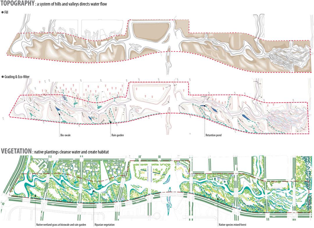 宁波走廊  2013ASLA规划设计荣誉奖  Ningbo Eco-Corridor  (12)