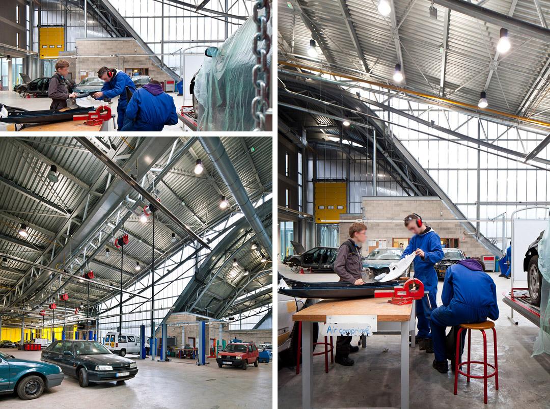 法国 鲁昂车辆维修技术学校  Marcel Sembat High School archi5 (4)