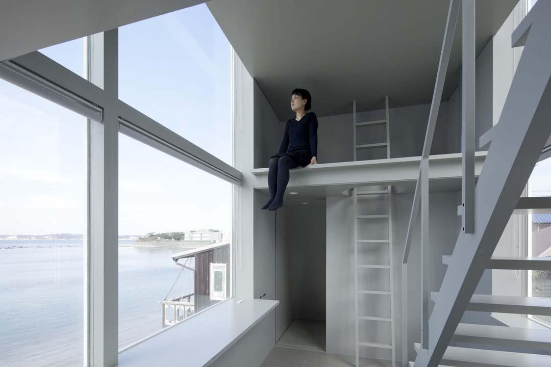 周末度假小屋Window House  Yasutaka Yoshimura (4)
