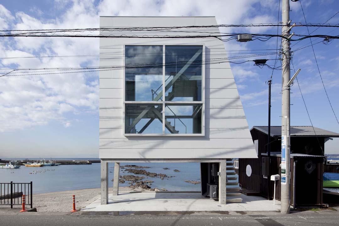 周末度假小屋Window House  Yasutaka Yoshimura (7)