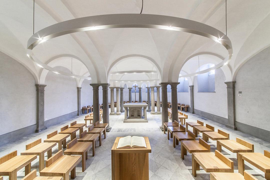 意大利贝加莫地区的Sacro Cuore e S. Egidio Abate教堂改建工程 (1)