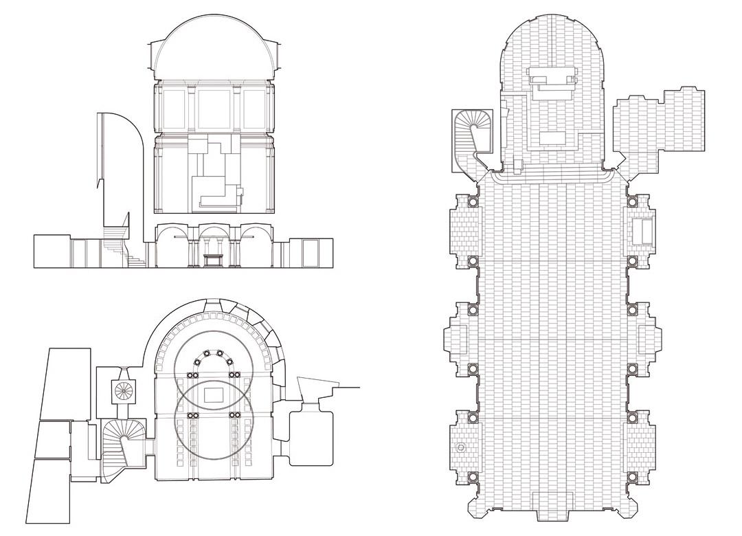 意大利贝加莫地区的Sacro Cuore e S. Egidio Abate教堂改建工程 (6)