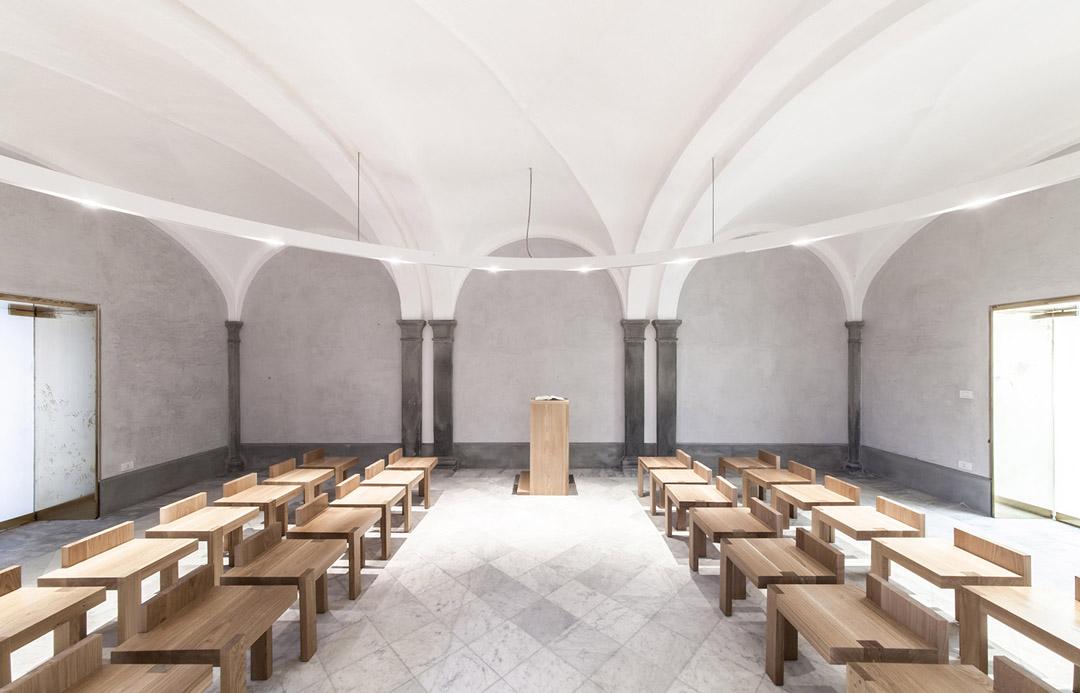 意大利贝加莫地区的Sacro Cuore e S. Egidio Abate教堂改建工程 (11)