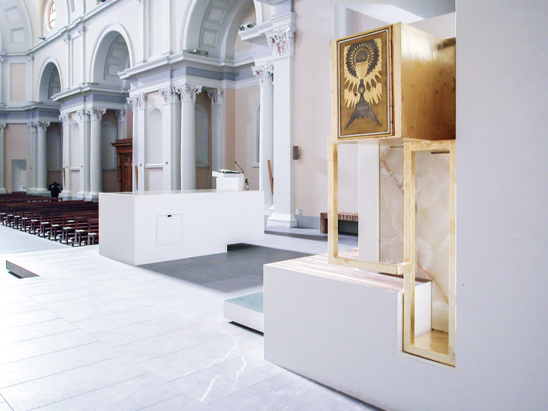 意大利贝加莫地区的Sacro Cuore e S. Egidio Abate教堂改建工程 (15)