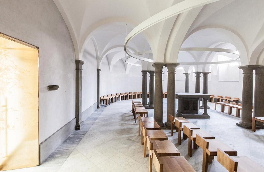 意大利贝加莫地区的Sacro Cuore e S. Egidio Abate教堂改建工程 (20)