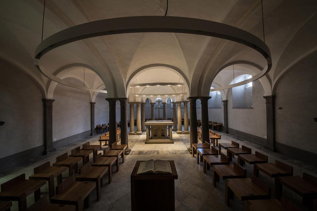 意大利贝加莫地区的Sacro Cuore e S. Egidio Abate教堂改建工程 (22)