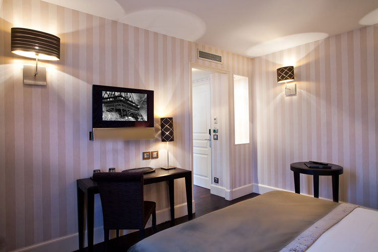 巴黎阿普雷埃菲尔铁塔酒店 Arès Tour Eiffel (20)