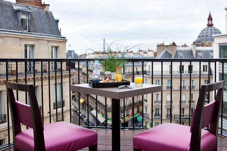 巴黎阿普雷埃菲尔铁塔酒店 Arès Tour Eiffel (37)