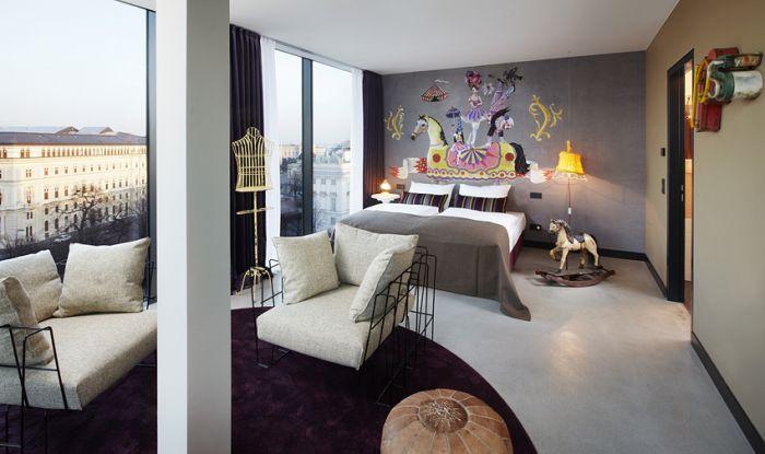 -维也纳博物馆区25小时酒店 25hours Hotel beim MuseumsQuartier (10)