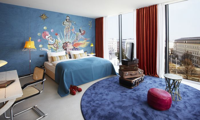 -维也纳博物馆区25小时酒店 25hours Hotel beim MuseumsQuartier (17)