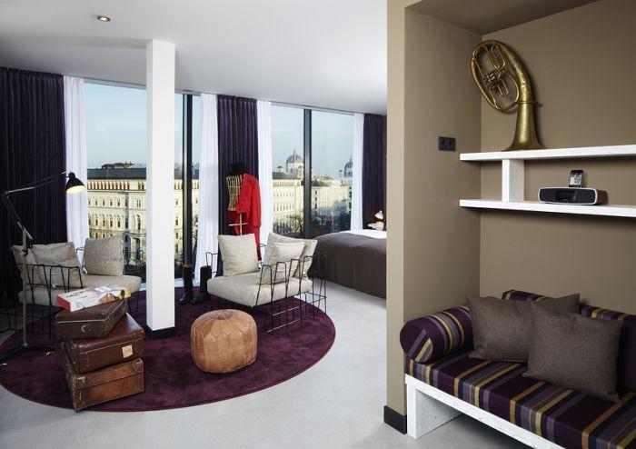 -维也纳博物馆区25小时酒店 25hours Hotel beim MuseumsQuartier (19)