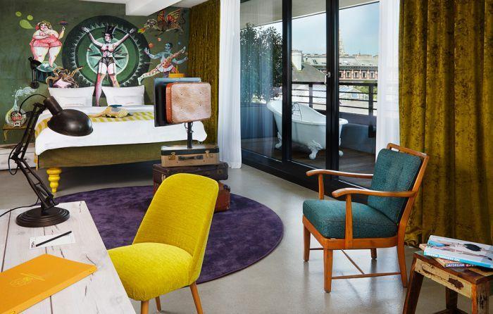 -维也纳博物馆区25小时酒店 25hours Hotel beim MuseumsQuartier (39)