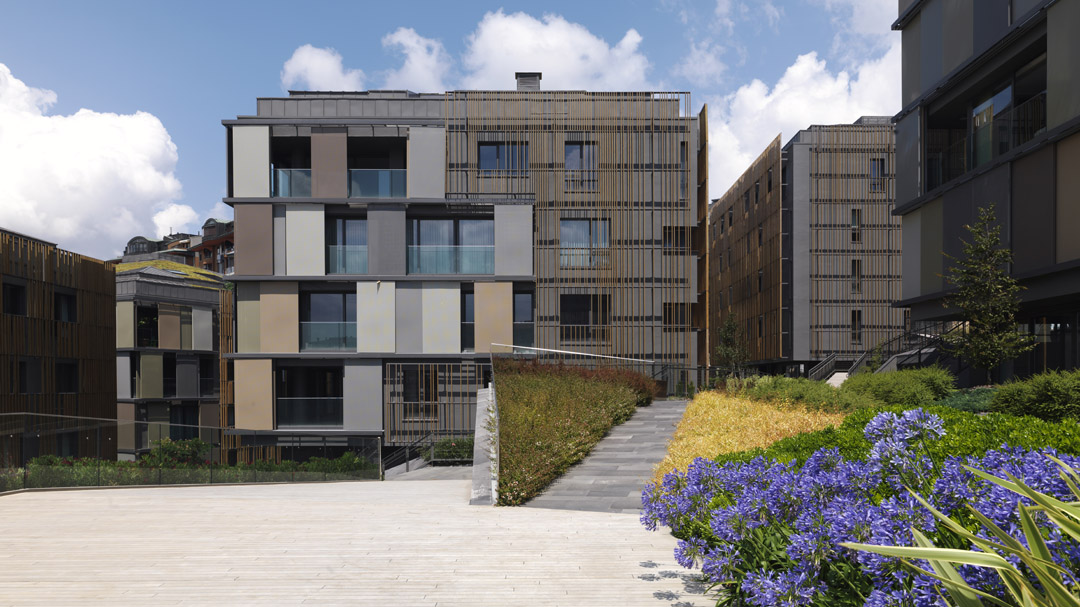 Ulus Savoy 住宅区Ulus Savoy Housing  DS Architecture Landscape (1)