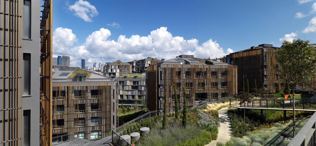 Ulus Savoy 住宅区Ulus Savoy Housing  DS Architecture Landscape (2)