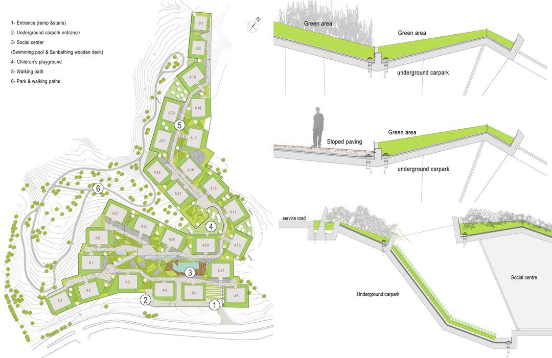 Ulus Savoy 住宅区Ulus Savoy Housing  DS Architecture Landscape (4)