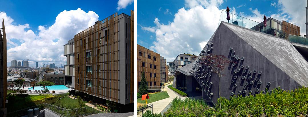 Ulus Savoy 住宅区Ulus Savoy Housing  DS Architecture Landscape (7)