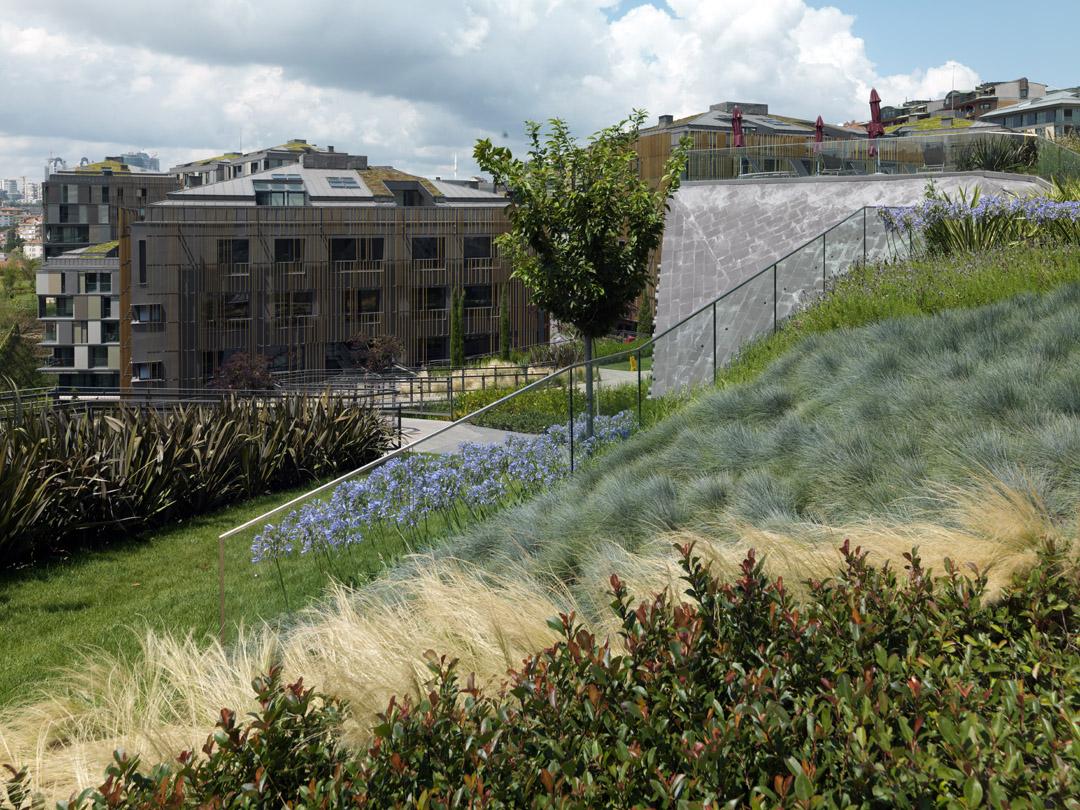 Ulus Savoy 住宅区Ulus Savoy Housing  DS Architecture Landscape (8)