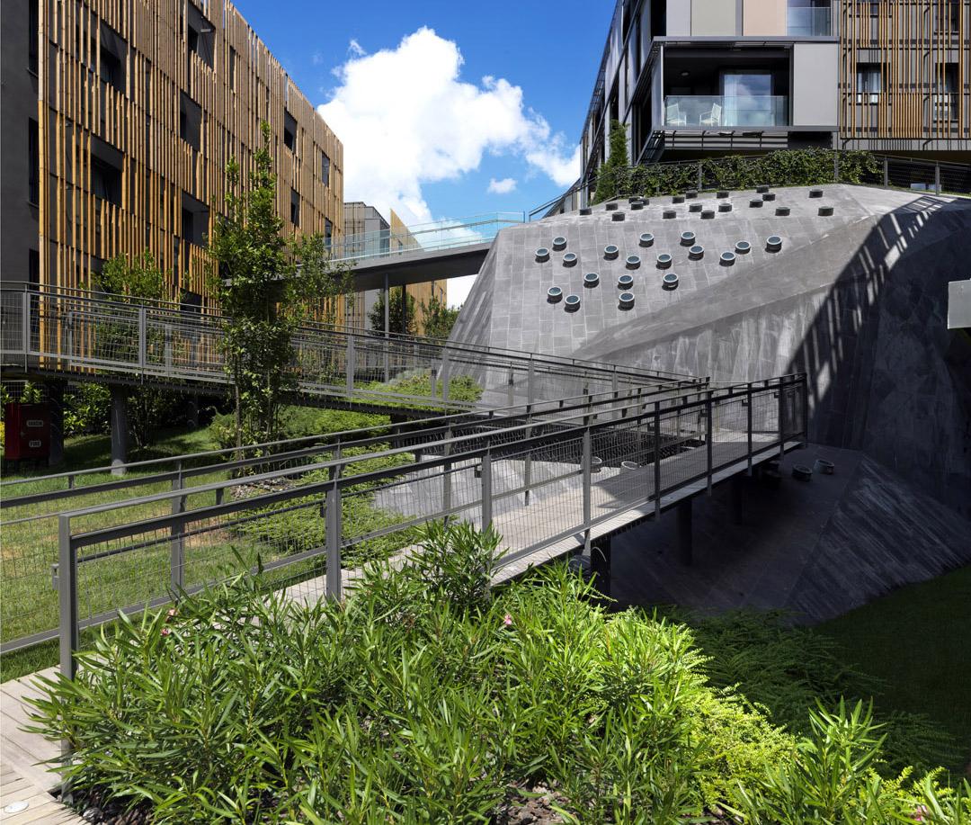 Ulus Savoy 住宅区Ulus Savoy Housing  DS Architecture Landscape (15)