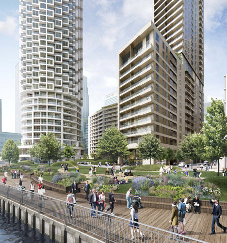 Herzog & de Meuron design skyscraper for east London (1)