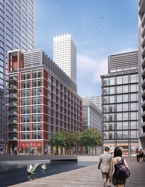 Herzog & de Meuron design skyscraper for east London (2)