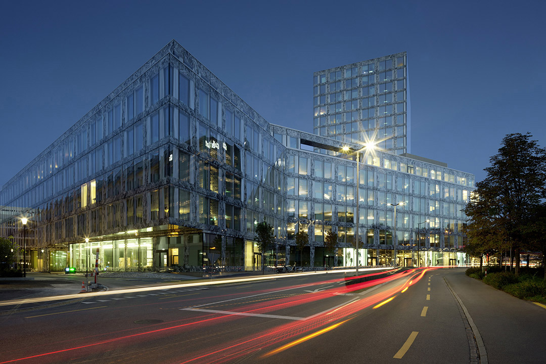 安联总部办公楼维尔阿雷兹建筑事务所Allianz Headquarters  Wiel Arets Architects (1)