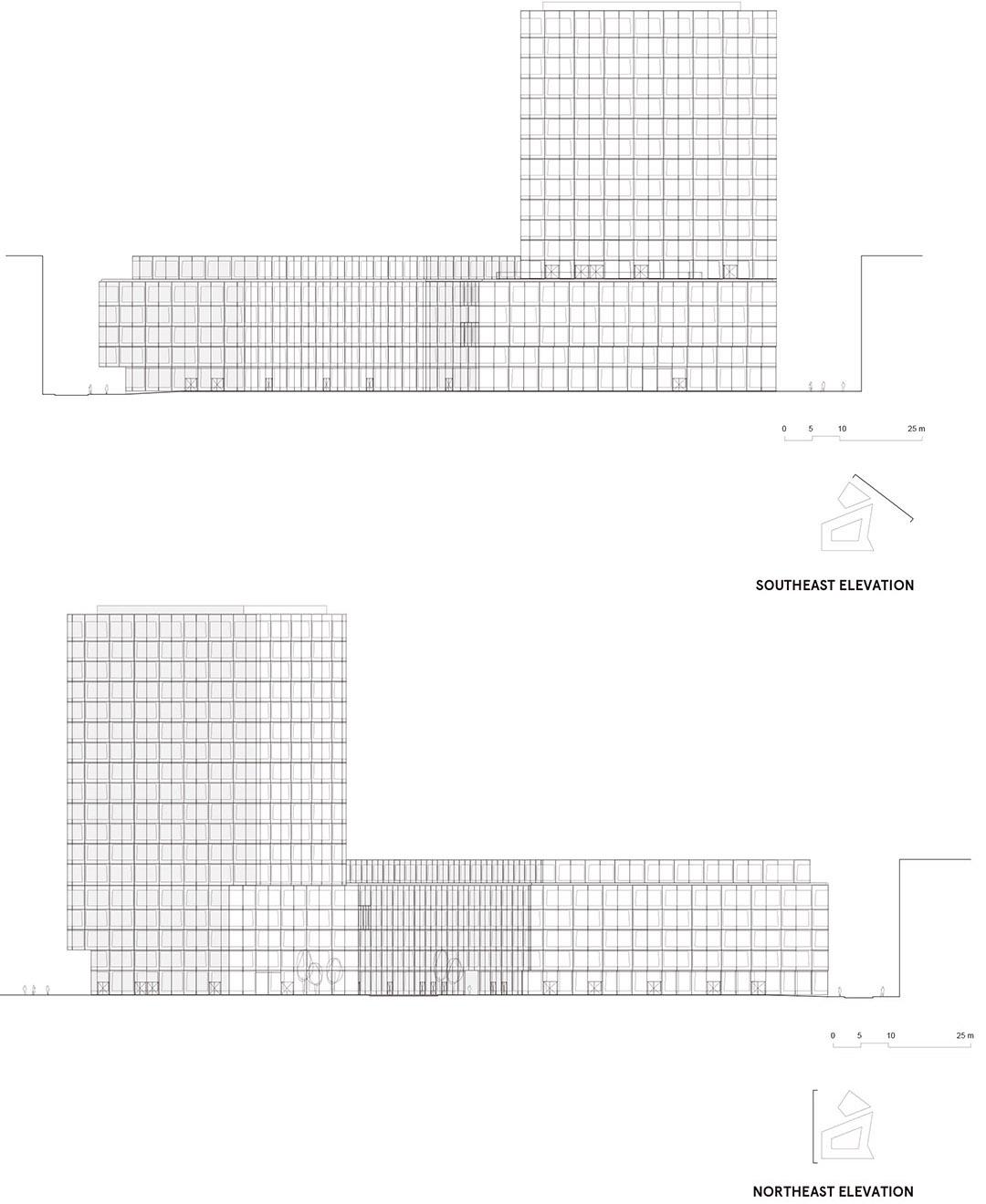 安联总部办公楼维尔阿雷兹建筑事务所Allianz Headquarters  Wiel Arets Architects (7)