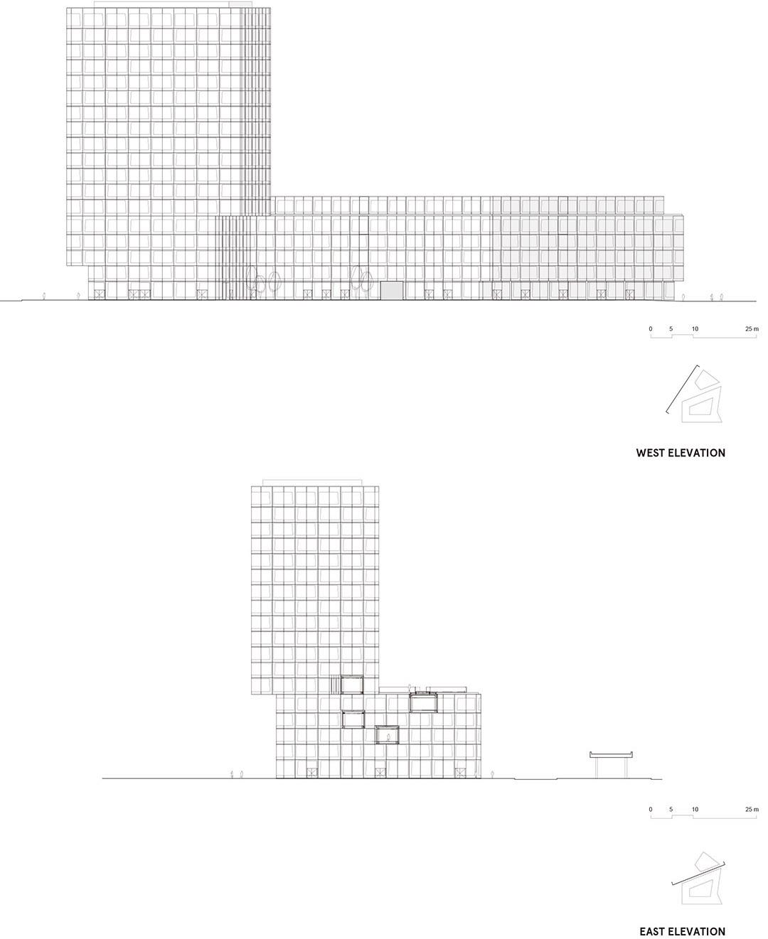 安联总部办公楼维尔阿雷兹建筑事务所Allianz Headquarters  Wiel Arets Architects (16)