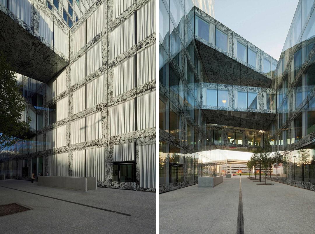 安联总部办公楼维尔阿雷兹建筑事务所Allianz Headquarters  Wiel Arets Architects (19)