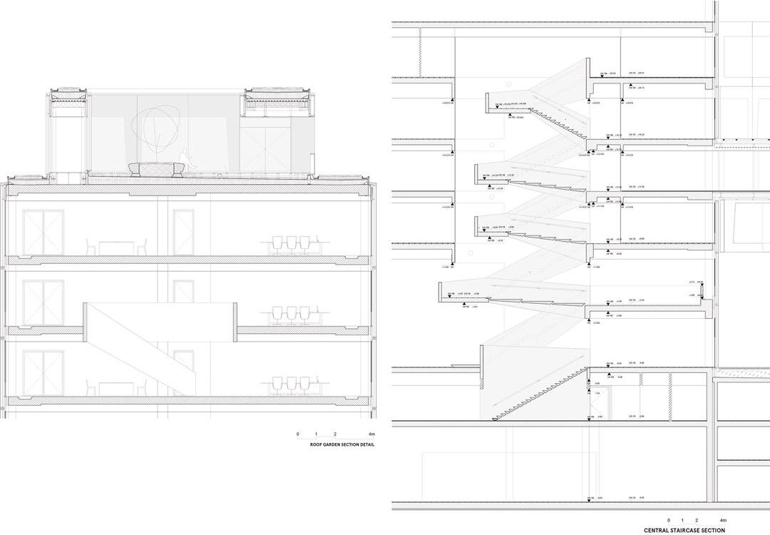 安联总部办公楼维尔阿雷兹建筑事务所Allianz Headquarters  Wiel Arets Architects (27)