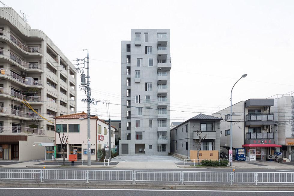 日本名古屋公寓塔楼TASHIRO 71  Hideaki TAKAYNAGI (5)