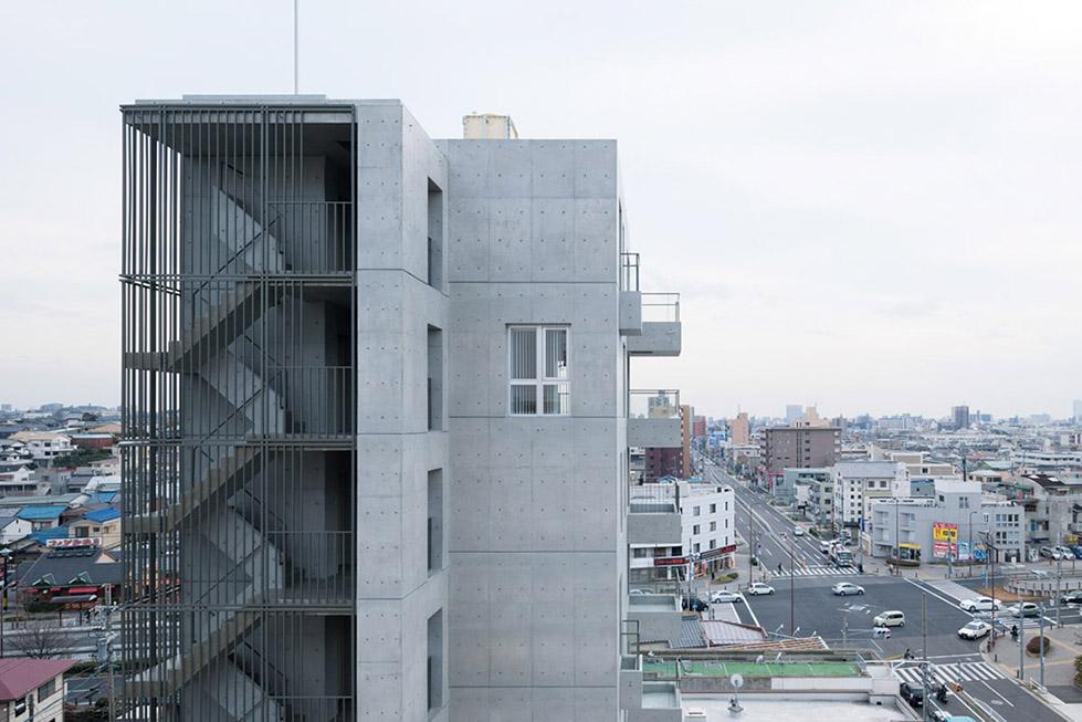 日本名古屋公寓塔楼TASHIRO 71  Hideaki TAKAYNAGI (8)
