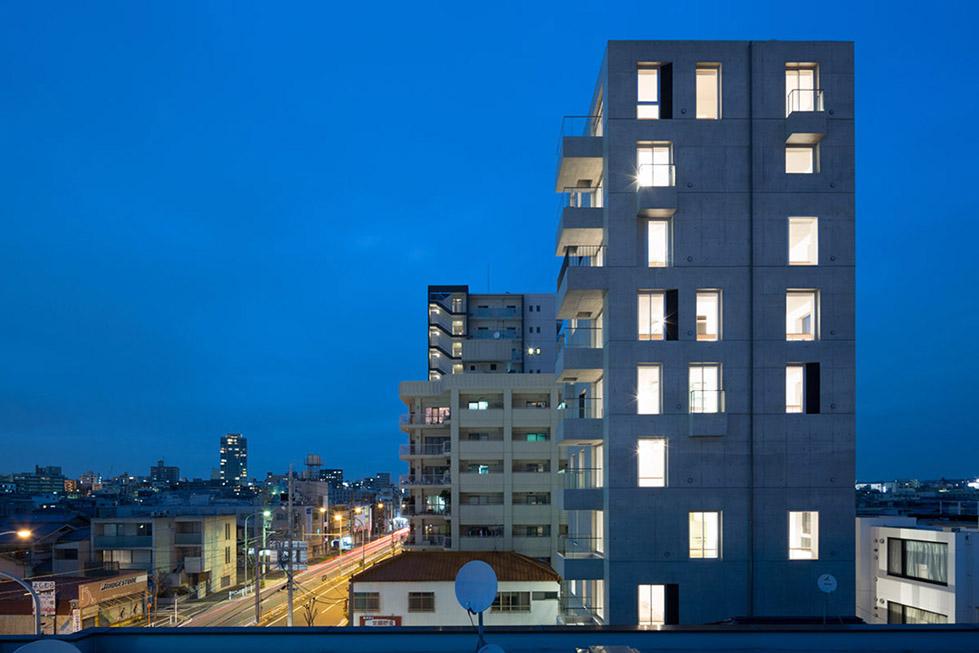 日本名古屋公寓塔楼TASHIRO 71  Hideaki TAKAYNAGI (10)