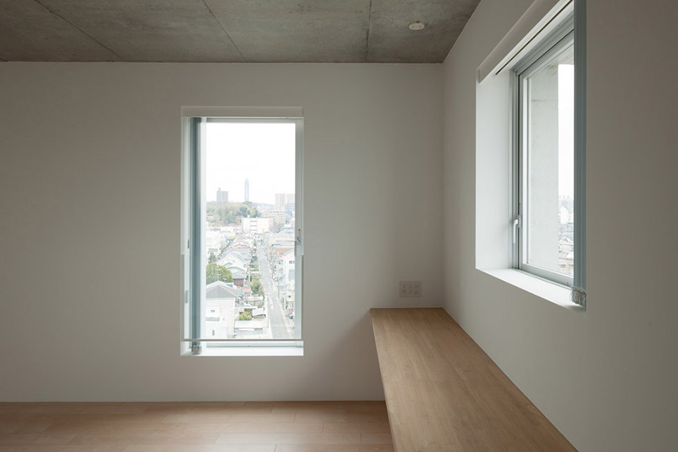 日本名古屋公寓塔楼TASHIRO 71  Hideaki TAKAYNAGI (11)