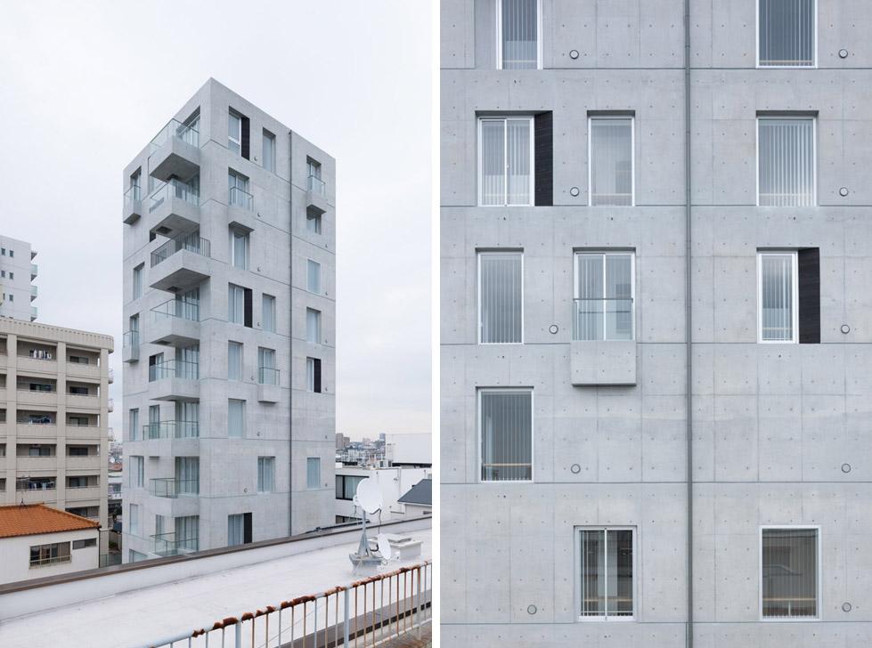 日本名古屋公寓塔楼TASHIRO 71  Hideaki TAKAYNAGI (13)